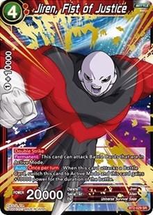 Jiren Fist Of Justice Bt2 029 Sr Dragon Ball Super