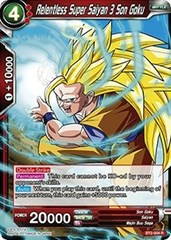 Relentless Super Saiyan 3 Son Goku - BT2-004 - R