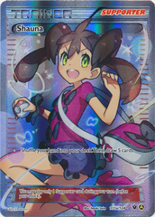 Shauna (Alt Art) - 111a/124 - Premium Trainers XY Collection