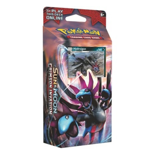 Sun & Moon - Crimson Invasion Destruction Fang Theme Deck - Hydreigon