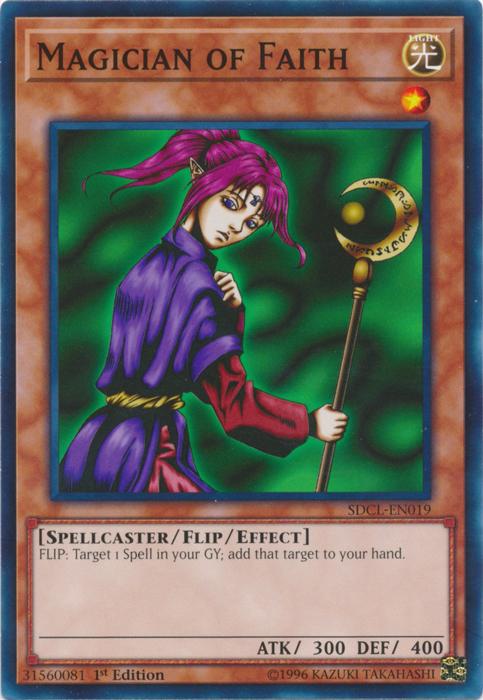 Magician of Faith - SDCL-EN019 - Common - 1st Edition