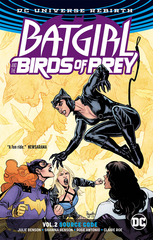 Batgirl And The Birds Of Prey Tp Vol 02 Source Code (Rebirth