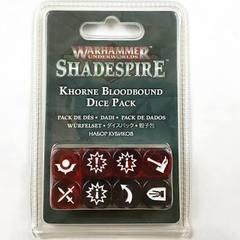 Khorne Bloodbound Dice