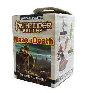 Pathfinder Battles: Maze Of Death Booster Pack