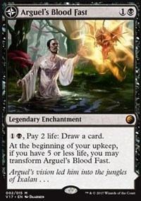 Arguels Blood Fast // Temple of Aclazotz - Foil