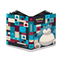 Ultra Pro Pokemon 20-page 18-pocket (Holds 360 Cards Total) Pro Binder: Snorlax