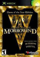 Elder Scrolls III Morrowind Game Of The Year