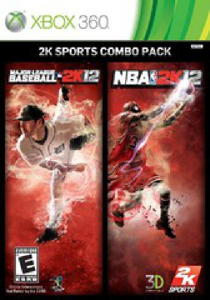 2K12 Sports Combo Pack MLB 2K12 NBA 2K12