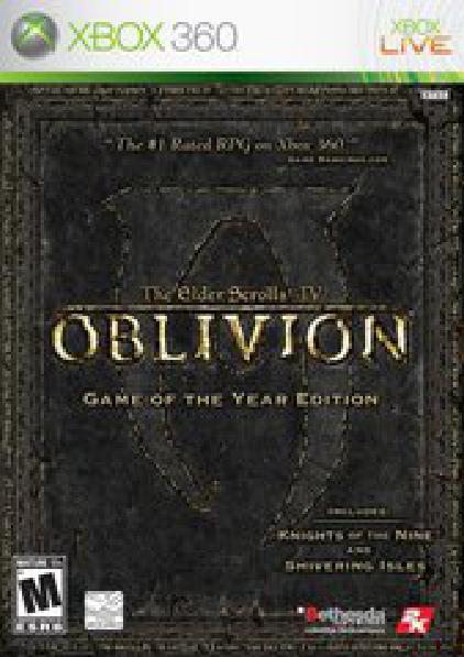 Elder Scrolls IV Oblivion [Game of the Year]
