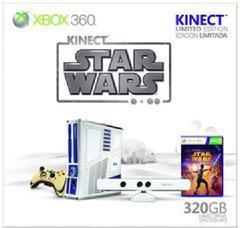 Xbox 360 Console Star Wars Kinect Bundle