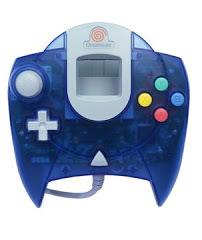 Blue Sega Dreamcast Controller