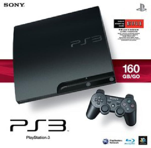 Sony PlayStation 3 Slim Console 160GB