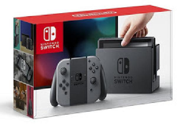Nintendo Switch 32GB with Gray Joy-Con