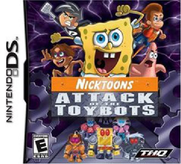 Nicktoons Attack of the Toybots - Video Games » Nintendo » Nintendo