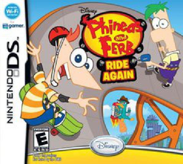 Phineas And Ferb Ride Again Nintendo 3ds Ds Complete Ds Video Game World