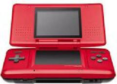 Red Nintendo DS Mario Kart Limited Edition