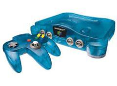 Funtastic Ice Blue Nintendo 64 System