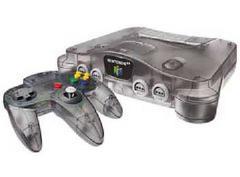 Funtastic Smoke Black Nintendo 64 System