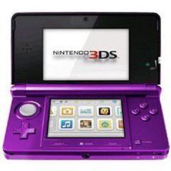 Nintendo 3DS Midnight Purple