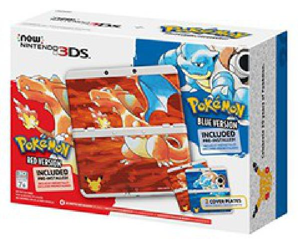 Nintendo 3DS Pokemon 20th Anniversary Edition