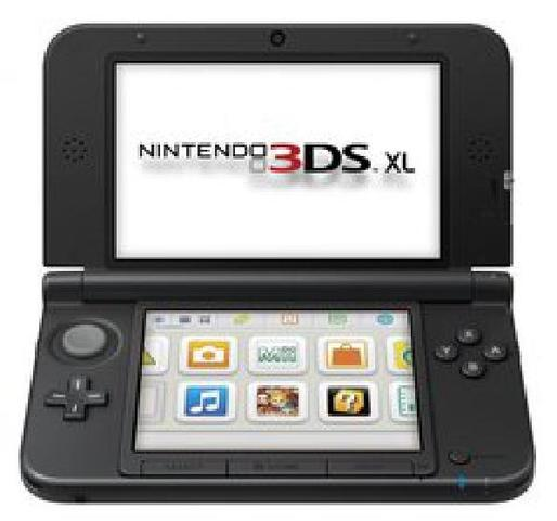 Nintendo 3DS XL Black & Red