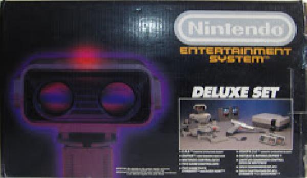 NIntendo NES Deluxe Set Console