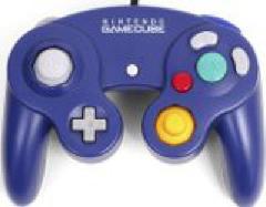Indigo Official Gamecube Controller