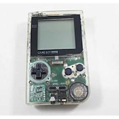 Clear Game Boy Pocket