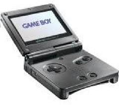 Black Gameboy Advance SP