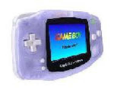 Nintendo Game Boy Advance - Glacier