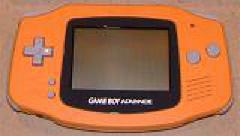 Orange Gameboy Advance System