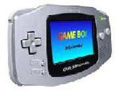 Platinum Gameboy Advance System