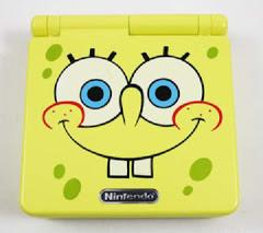 SpongeBob SquarePants Gameboy Advance SP