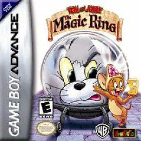 Tom and Jerry Magic Ring - Video Games » Nintendo » GameBoy Advance ...