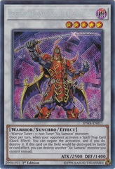 Legendary Six Samurai - Shi En - SPWA-EN011 - Secret Rare - 1st Edition
