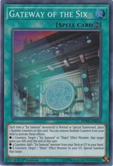 Gateway of the Six - SPWA-EN014 - Super Rare - 1st Edition