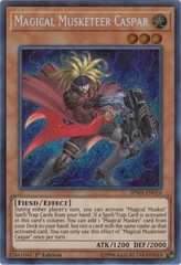 Magical Musketeer Caspar - SPWA-EN016 - Secret Rare - 1st Edition