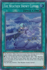 The Weather Snowy Canvas - SPWA-EN036 - Super Rare - 1st Edition