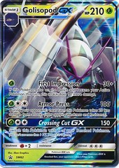 Golisopod-GX - SM62 - Ultra Rare Holo Promo - SM Black Star Promo on Channel Fireball