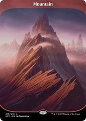 Mountain (215) - Full Art - Foil