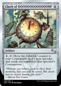 Clock of DOOOOOOOOOOOOM! - Foil