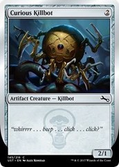 Curious Killbot - Foil