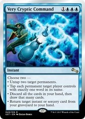 Very Cryptic Command (B) - Foil