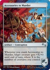 Accessories to Murder on Channel Fireball