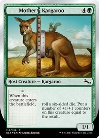 Mother Kangaroo - Foil