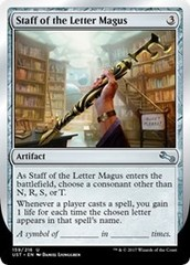 Staff of the Letter Magus - Foil
