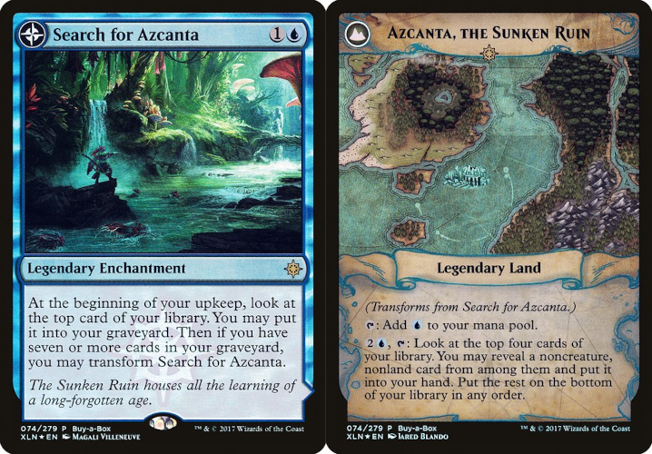 Search for Azcanta // Azcanta, the Sunken Ruin - Treasure Chest Promo