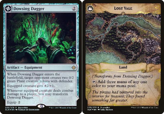 Dowsing Dagger // Lost Vale - Treasure Chest Promo