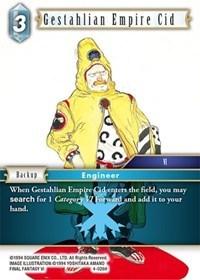 Gestahlian Empire Cid - 4-026H