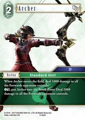 Archer - 4-056R - Foil on Channel Fireball